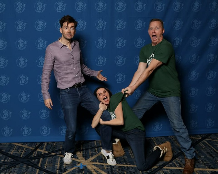 David Tennant Photo Op Emerald City COmic Con
