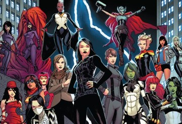 Marvel-Female-Team