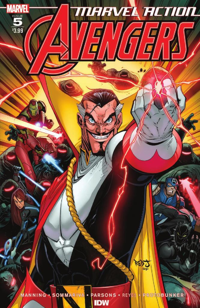 The Marvel Reviews For The Week Of June 05, 2019 - Last War