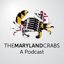 Logo for The Maryland Crabs Podcast