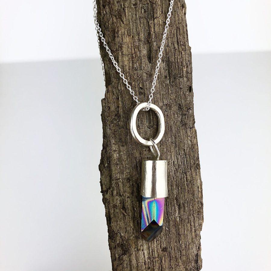 Silver & Quartz Necklace