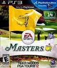 Brand New Sealed Tiger Woods PGA Tour 12: The Masters Golf (PlayStation 3, 2011)