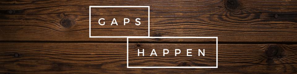 Gaps Happen to Wood Flooring