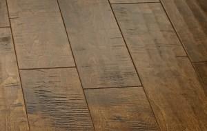 handscraped hardwood floor