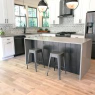 Storehouse Drum from Real Wood Floors installed in kitchen and living room.