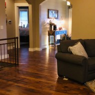 Durango Caramel floor installed on the entire main floor. Beautiful floor that matches several interior styles.