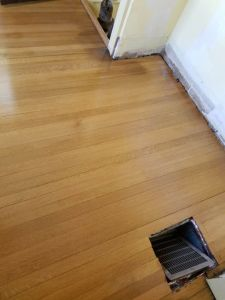 "2 1/4"" Select and Common Red Oak Floor Sand and Finish"