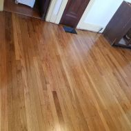 "2 1/4"" Select and Common Red Oak installed in a Kansas City home."