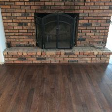 Random installation of the three widths in the family room <br /> <small>Photographer: Jennifer Spiker </small><small>    Location: Plattsmouth, NE </small><small>    Business: Husker Hardwood Floors </small><br />