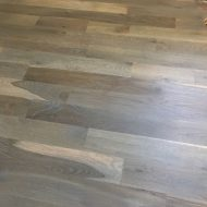 "5"" #1 Common White Oak Maxwell with Rubio Fumed & Rubio 5% white"