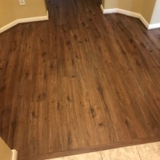 "Maxx Flooring ""Spiced Rum"" installed in Houston, TX <br /> <small>Photographer: Julie Gates </small><small>    Location: Houston, TX </small>"