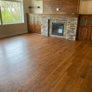 New Construction home - White Oak Barley throughout entire main level