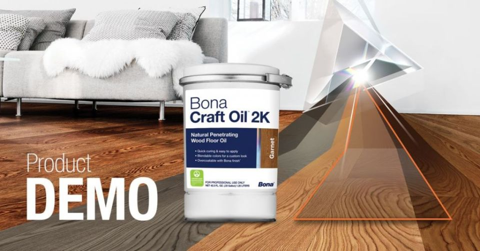 Bona Demo Day about Bona Craft Oil 2K at The Master's Craft