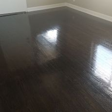 Sand & finish floor with red oak, white oak, and walnut <br /> <small>Photographer: Brent Mckay </small><small>    Location: Oklahoma City, Oklahoma </small><small>    Business: Timeless Hardwood Floors LLC </small><br />