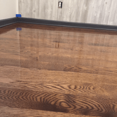 3 1/4 White oak, number one. Sand and Finish <br /> <small>Photographer: Carson Rhoades </small><small>    Location: Baldwin City, Kansas </small><small>    Business: J-Time Flooring </small><br />
