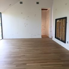 New residential build with white oak floors that were sanded. <br /> <small>Photographer: Jennifer Hodges </small><small>    Location: Austin, Texas </small><small>    Business: Stratum Floors </small><br />