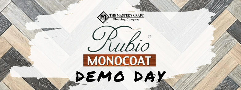 Rubio Monocoat Demo Day at The Master's Craft