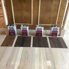 Putting some color samples for the costumer. <br /> <small>Photographer: Wilson Assis Jr </small><small>    Location: Overland Park, Kansas </small><small>    Business: Wise Wood Floor </small><br />