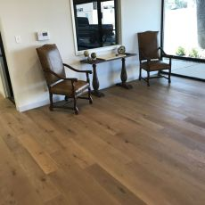 Gallery Louvre White Oak installed by Nelson Construction at an advertising company office in Abilene, TX <br /> <small>    Location: Abilene, TX </small><small>    Business: Nelson Construction </small><br />