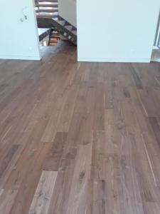 """6"""" Walnut floor with Emulsion"""