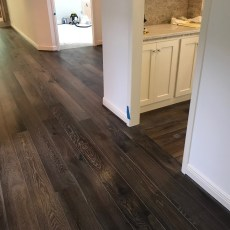 """Gallery """"Hermitage"""" from Real Wood Floors installed in bedroom and hallway. <br /> <small>Photographer: Terry Davis </small><small>Business: Adore Floors </small><br />"""