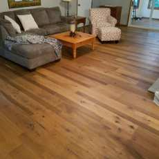 Lovely European White Oak floor from Real Wood Floors. <br /> <small>Location: West Plains, Mo </small>