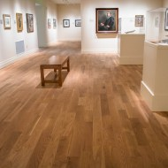 Teckton White Oak Natural installed in Gibbes Museum of Art in Charleston, SC.