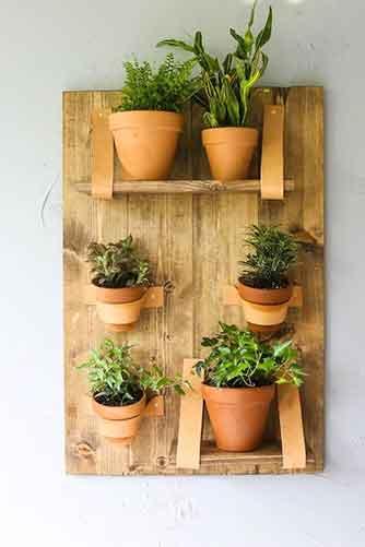 DIY Vertical Wall Planter