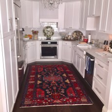 Ponderosa Pueblo from Real Wood Floors installed in a kitchen. <br />