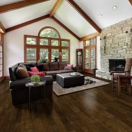 Ponderosa San Marcos from Real Wood Floors installed in a living room.