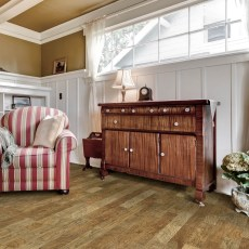 Ponderosa Pecos from Real Wood Floors installed in a living room. <br /> <small>Photographer: Real Wood Floors </small>