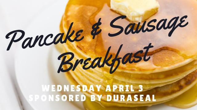 Duraseal Pancake & Sausage Breakfast
