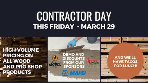 Contractor Day Dallas