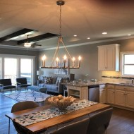 Longhouse Plank Cumbria installed by SAB Homes and Dapper Design in Kansas City.