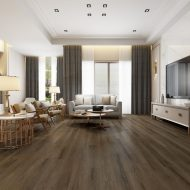 """Multi-Length Rigid Core - 7"""" x 6mm, 20 Mil Wear Layer, Multiple Lengths (2-6'), Natural Wood Texture with Anti-Stain and Anti-Scratch Finish, Painted Bevels, Multi-tone Pattern"""