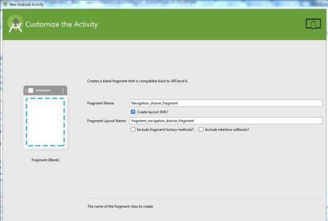 Alt Tag Navigation Drawer in material design assine name
