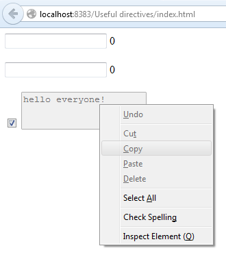 AngularJS useful directives