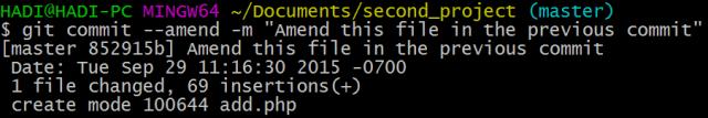 undo file