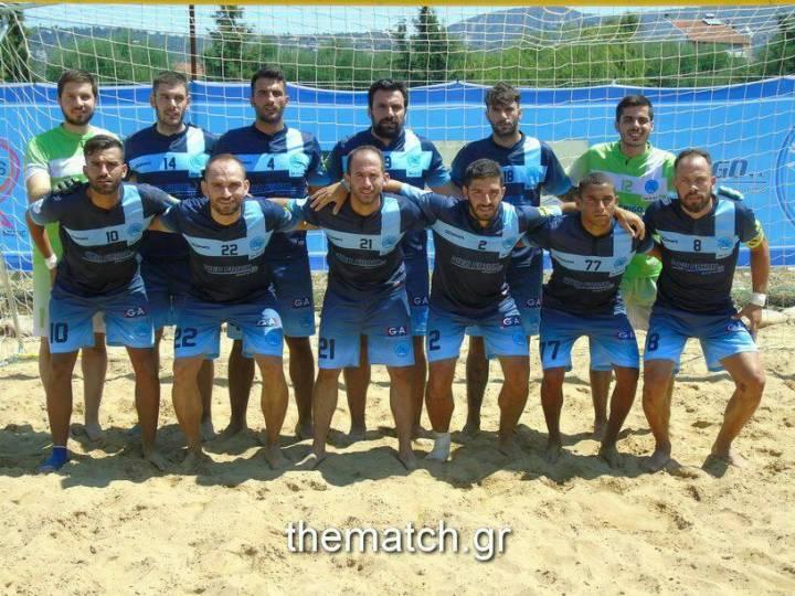 Απίστευτο: Ουδείς παίκτης της Νάπολης Πατρών στην Εθνική ομάδα beach soccer