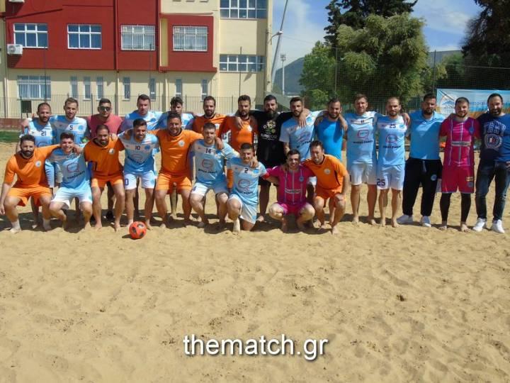 Απόλυτη επιτυχία το 1ο διεθνές τουρνουά Beach Soccer Σπύρος Αβράμης (φωτο)