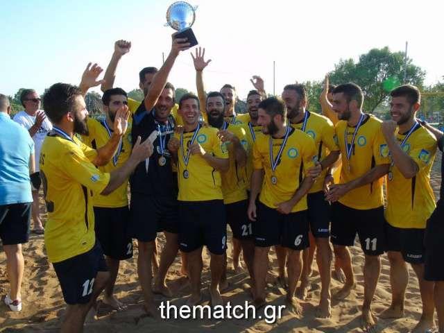 Beach Soccer: Πρωταθλητής ο Άτλας Αθηνών, δεύτερη η Νάπολη Πατρών (φωτό απ' όλα τα ματς-βίντεο)