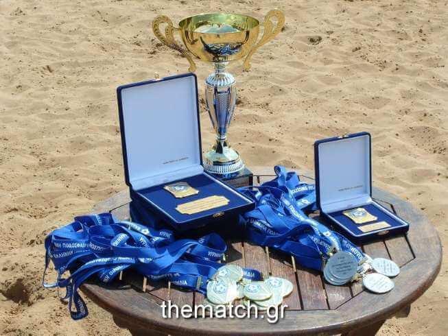 Beach Soccer: Πρωταθλητής o Α.Ο. Κεφαλληνία, δεύτερη η Νάπολη Πατρών (φωτο 1/2)