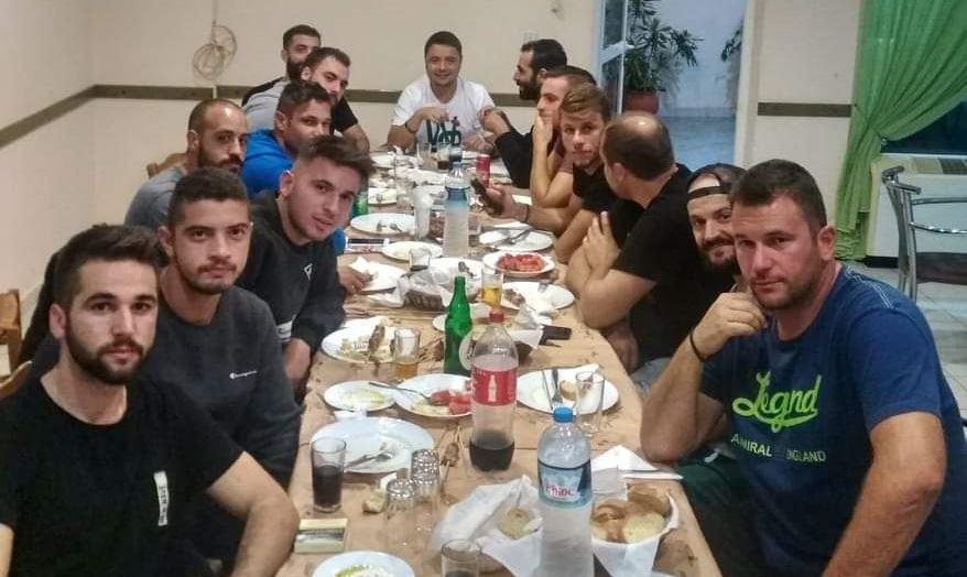 Τραπέζι και αισιοδοξία για νικηφόρα αποτελέσματα στο Λιμνοχώρι (φωτό)