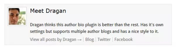 Author Box WP Plugin - Better Author Bio