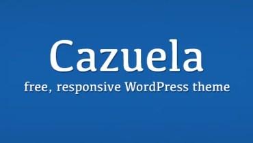 Cazuela, free responsive wordpress theme