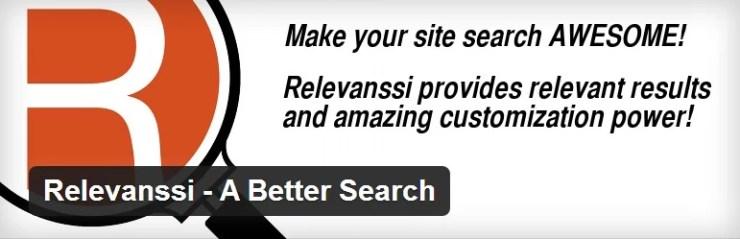 Relevanssi WordPress Search Plugin