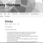 Gray Twenty Thirteen WordPress Child Theme