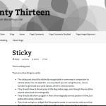 Gray Twenty Thirteen WordPress Child Theme