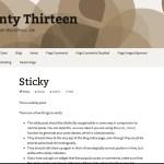 Sepia - Turqiuse Twenty Thirteen WordPress Child Theme