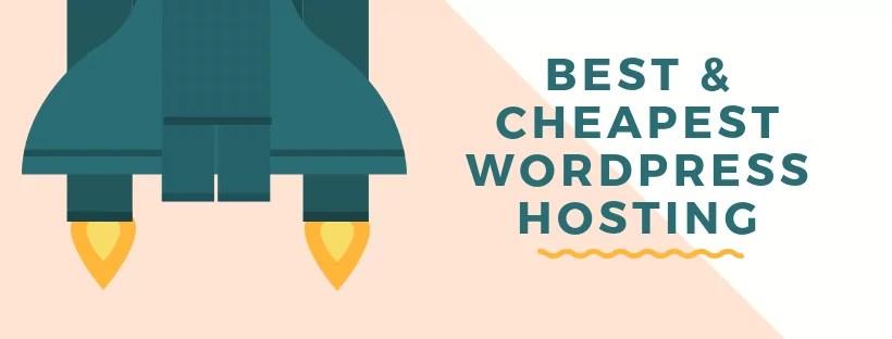 Best & Cheapest WordPress Hosting